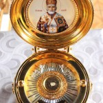 Ковчег с частицей мощей святителя Николая Чудотворца