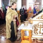 Настоятель храма Святой Троицы иерей Андрей Петручок