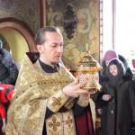Встреча ковчега с частицей мощей святителя Николая Чудотворца