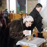Прихожане храма Святой Троицы