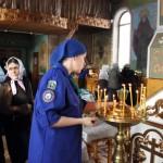 Татьяна Хижняк начальник отряда св. ап. Андрея Первозванного