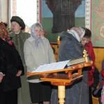 Прихожане в ожидании прибытия ковчега с мощами святого преподобного Сергия Радонежского