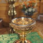 Ковчег с мощами святого преподобного Сергия Радонежского